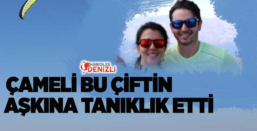 ÇAMELİ ORKUT VE ESRA BAYSAL'IN AŞKINA TANIKLIK ETTİ